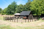 foto of velika  - Horse Stable on vilaage farm  - JPG