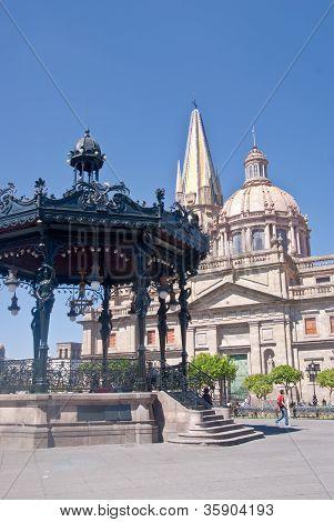 Guadalajara Mexicon Downtown Plaza