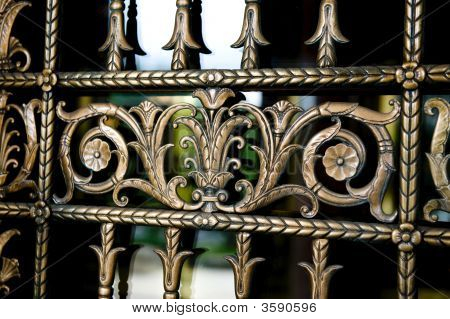 Detailed Decorative Metal Work