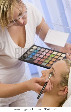 Schöne Make-up