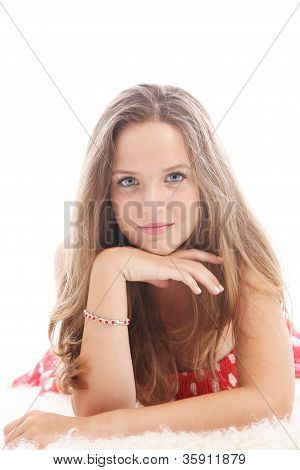 Dispirited Teenage Girl