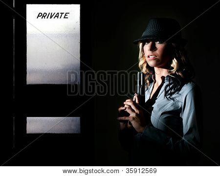 Detetive feminino