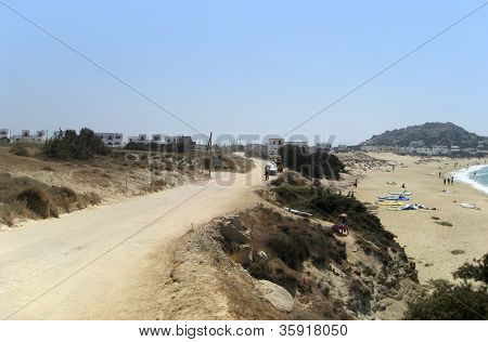 Naxos In Greece