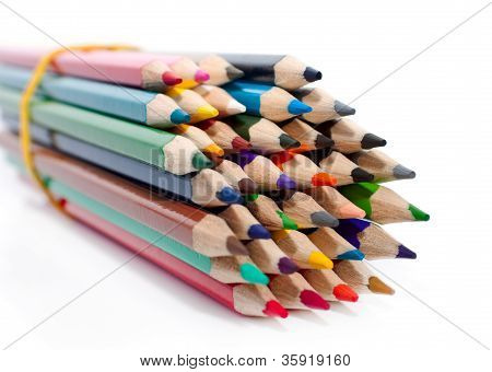 The Bundle Of Bright New Pencils