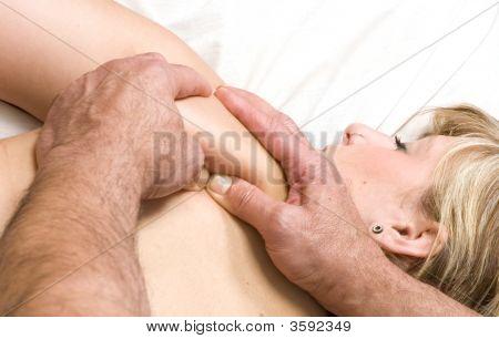 Woman Having Massge
