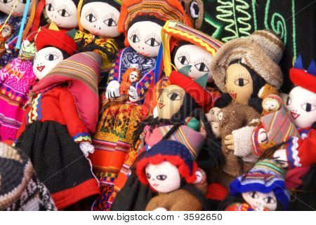 Handmade Indian Doll