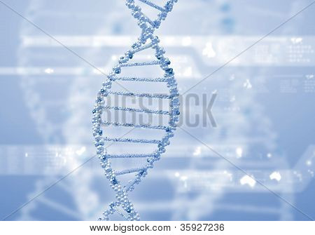 DNA strand illustration