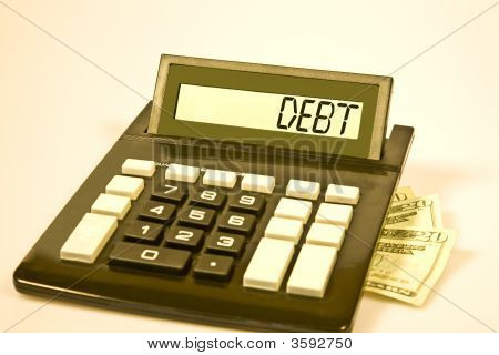 Calculator Says Debt