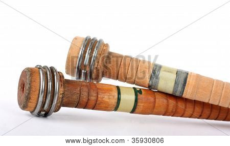Antique Wooden Spools