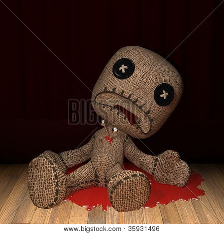 Bloody Voodoo Doll