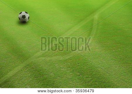 penalty kick on field