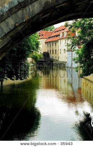 Water Wheel, Prague