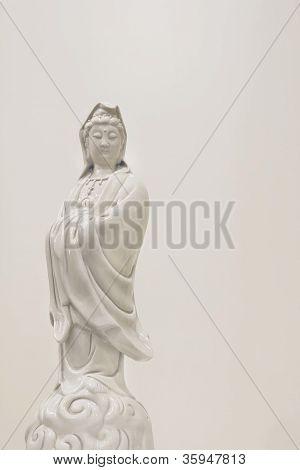 Kuan Yin Goddess Of Mercy Statue