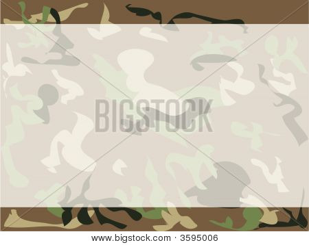 Army Camouflage Background