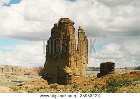Utah Rock Mesas