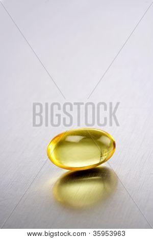One cod liver oil pill