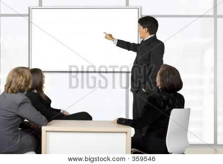 Corporate Online Training - Man Presenting
