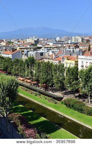 Perpignan City, France