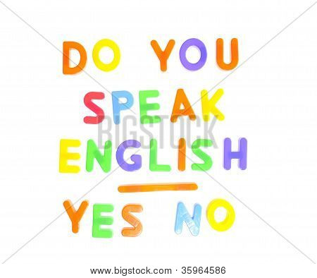 Do You Speak English.