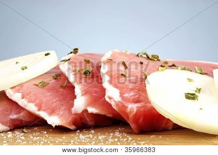 Pork Chops Raw