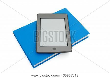 Touch E-reader With A Real Book