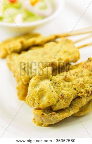 Pork Satay : Thai Food