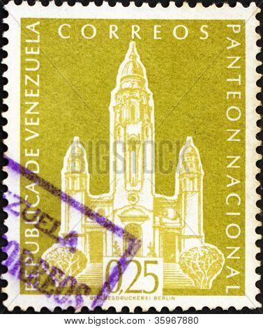 Postage stamp Venezuela 1960 National Pantheon, Caracas