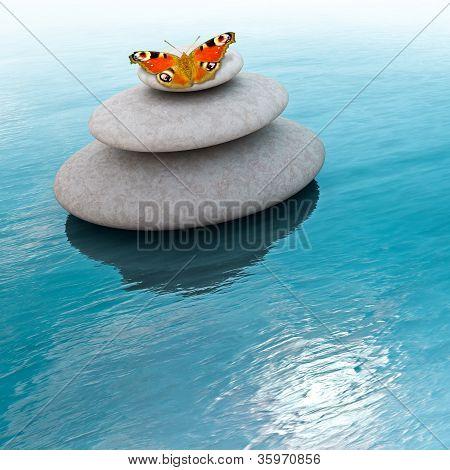 Pedras de Zen