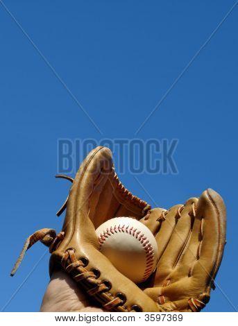 Baseball Catch Portrait