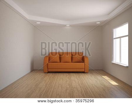 The Orange Sofa