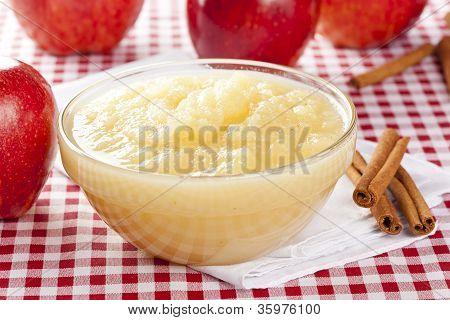 Fresh Organic Applesauce