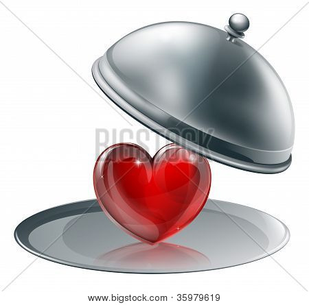 Heart On A Silver Platter
