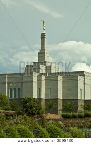 Mormon Temple In Snowflake Arizona