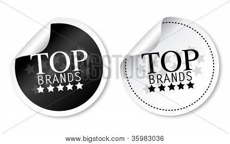 Top brands stickers