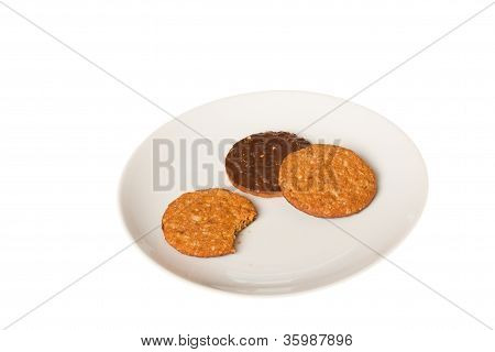 Nibbled Biscuit