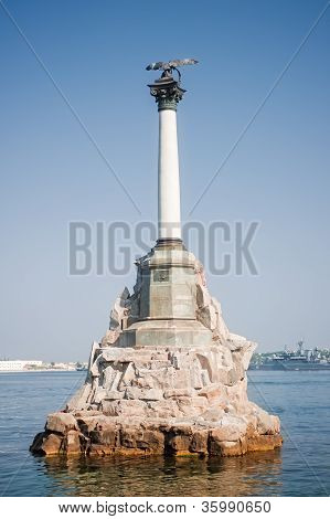 Monument to the Scuttled Ships - a monument in Sevastopol, the emblem of the city