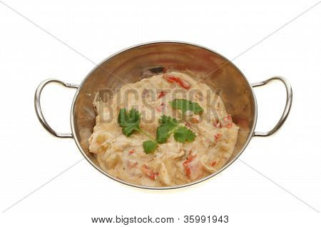 Curry In A Balti Dish