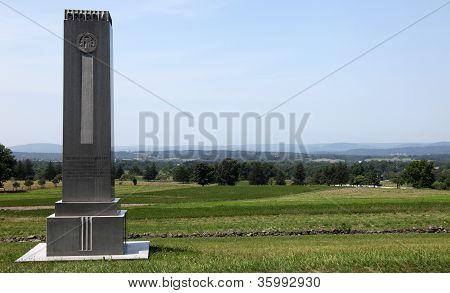 Memorial Monument Georgia - Gettysburg, American Civil War