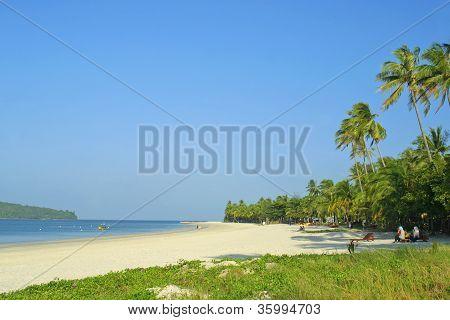 Cenang Beach On Langkawi Island, Malaysia