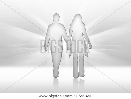 Pair Hand In Hand