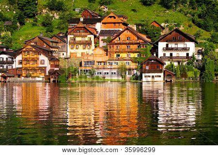 Houses of Halstatt, Austria