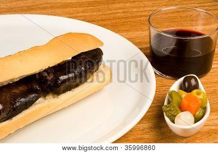 Morcilla Baguette