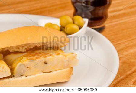 Tortilla Bocadillo