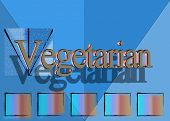 Vegetarian Descriptive Text Illustration
