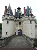 picture of poitiers  - Entrance towers at the Chateau de Dissay near Poitiers France - JPG