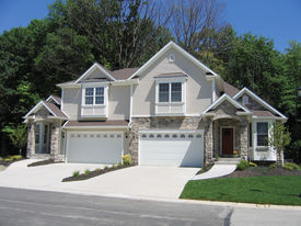 pic of duplex  - Two-family home (Duplex Unit) in a subdivision.