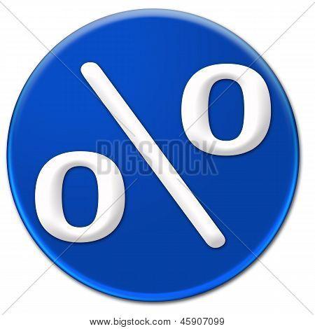 Per Cent Symbol