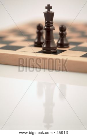 King And Two Pawns