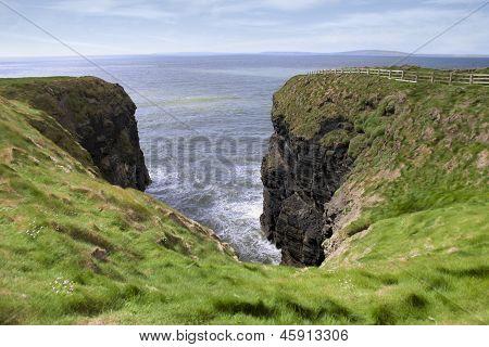 Green Cliff Walk View