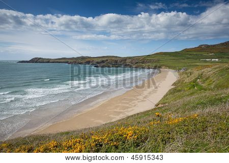 Whitesands Bay Pembrokeshire West Wales UKast National Park.   The Pembrokesh